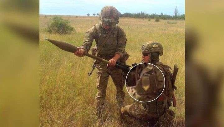 Украинские каратели заметают следы использования американских гранатометов