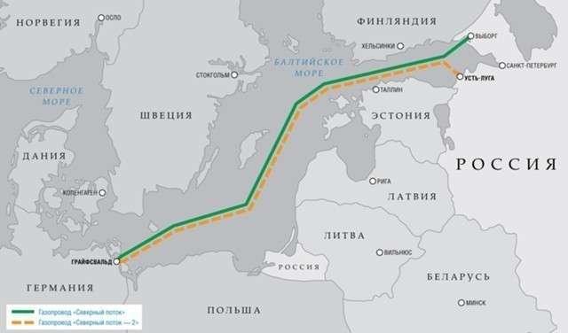 Норвегия подключилась к строительству «Северного потока-2»