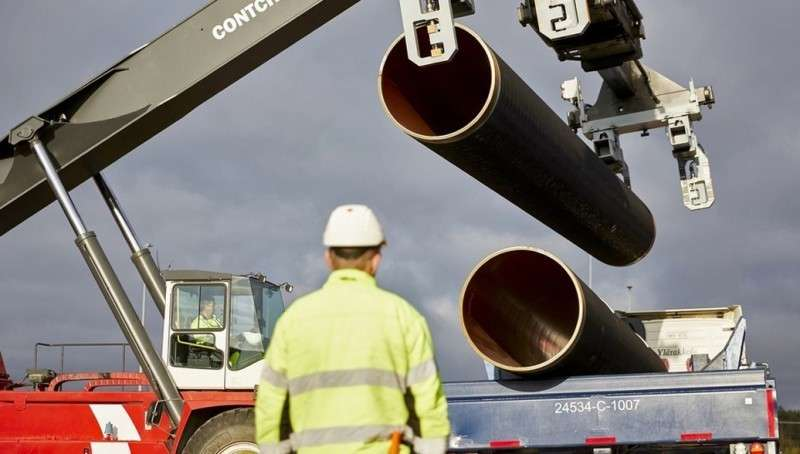 Бандиты из WWF требуют от Меркель прекратить строительство «Северного потока-2»