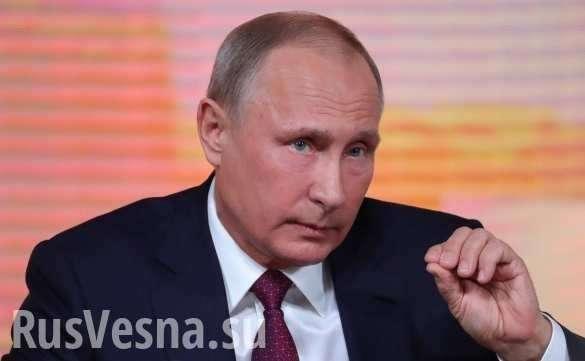 Путин прокомментировал слова Госдепа о их обеспокоенности недопуска Навального к выборам | Русская весна