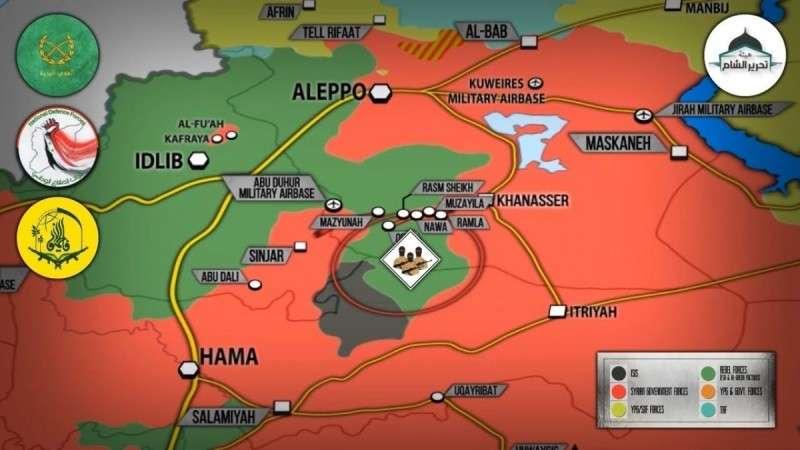 Сирия. Наёмники США из Джебхат ан Нусры теряют восточный Идлиб