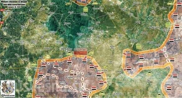 Армия Сирии рвётся захлопнуть «крышку котла» для американской Аль-Каиды | Русская весна