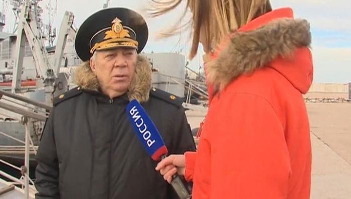 Контр-адмирал Соловьев рассказал об украинских кораблях в Крыму