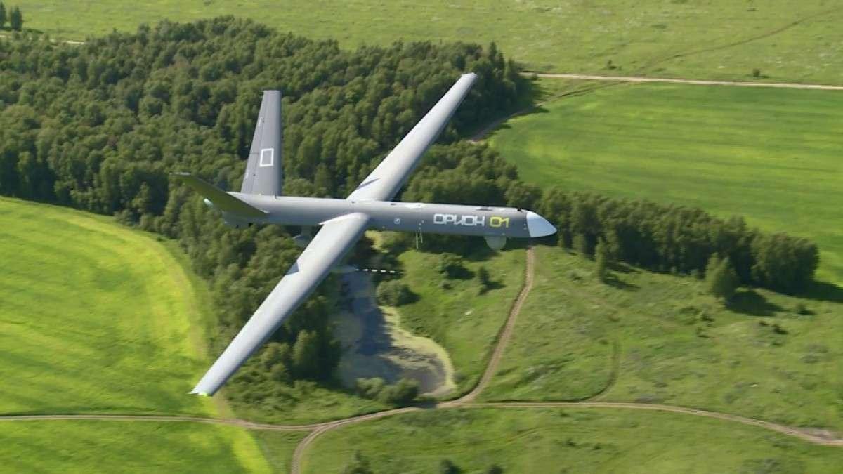 Российский комплекс воздушной разведки на базе БПЛА «Орион-Э»
