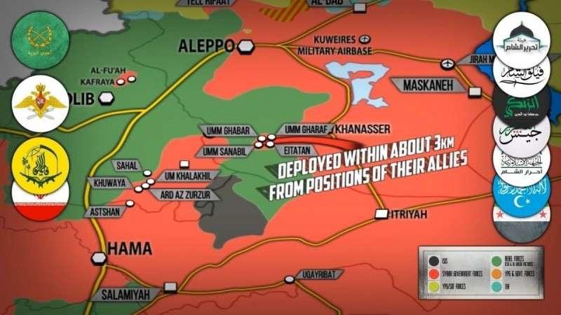 Сирия. Аль-Каида и Нусра провалили наступление в Идлибе, Восточная Гута пылает