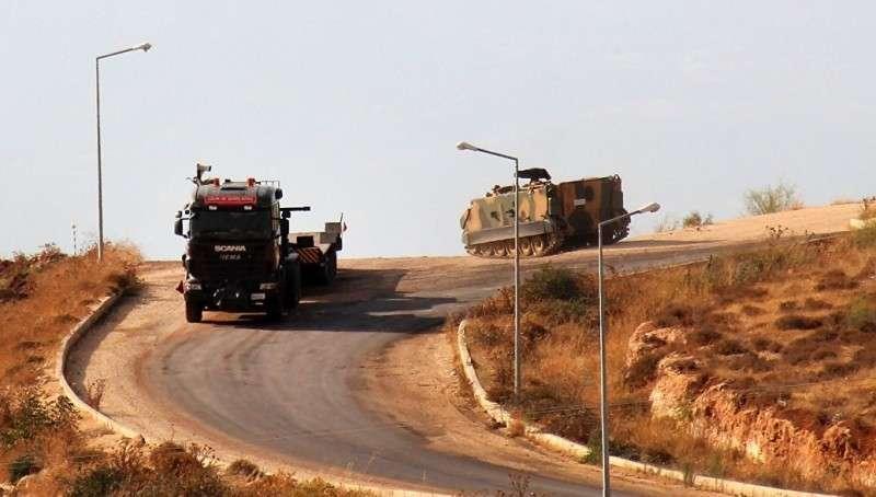 Сирия: Турция перебросила военную технику к государственной границе