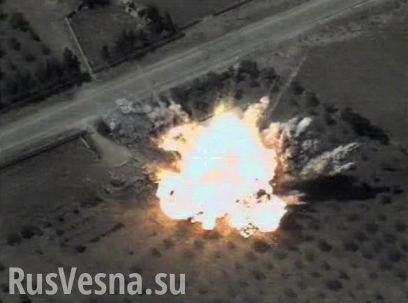 Сирия, Идлиб: ВКС России уничтожили большой конвой Аль-Каиды | Русская весна