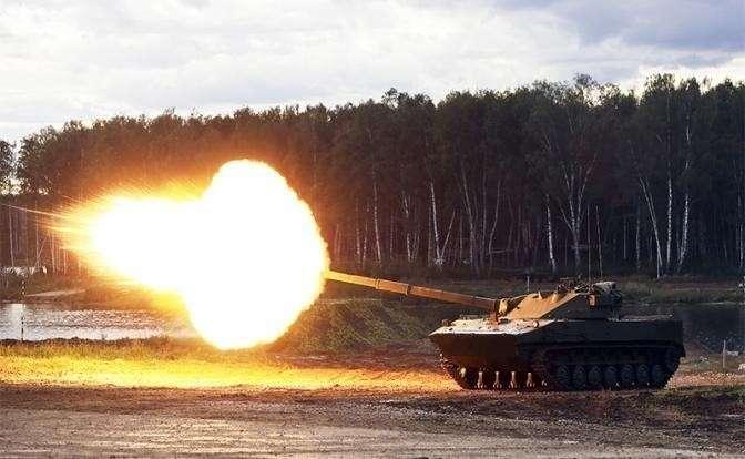 На фото: легкий танк 2С25 «Спрут-СД»