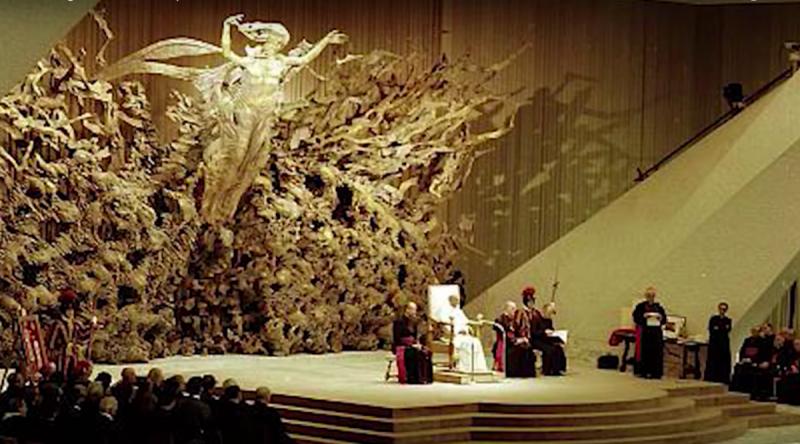 Сатанинские секреты конференц-зала Папы Римского