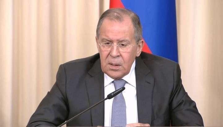 Глава российского МИД-а Сергей Лавров подведет итоги минувшего года