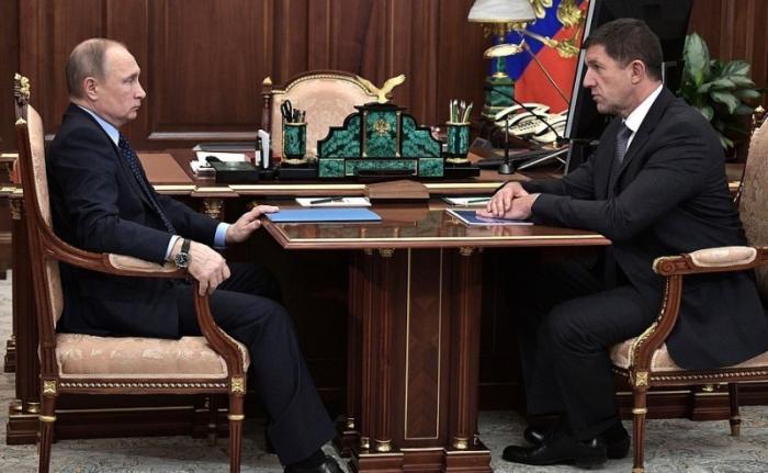 Встреча спрезидентом компании «Ростелеком» Михаилом Осеевским