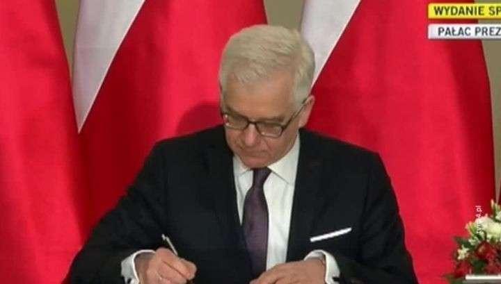 МИД Польши поменяет дипломатов с российским образованием на неучей