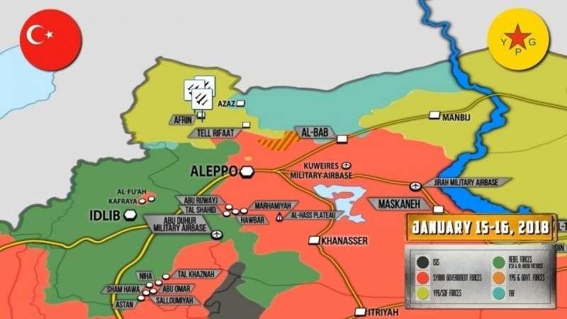 Сирия. Турция готова начать войну с курдами, тяжёлые бои в Идлибе