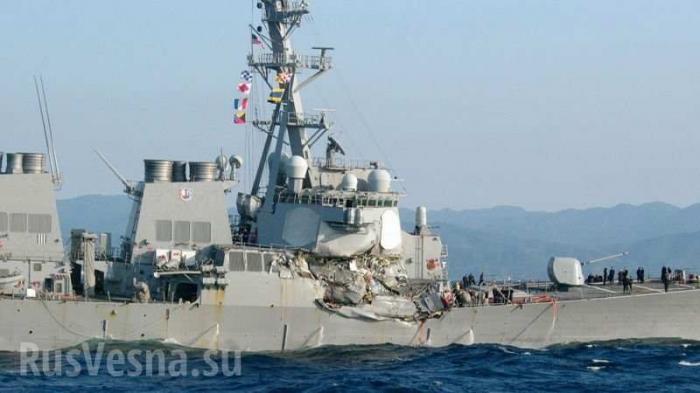 Командиры двух эсминцев-неудачников предстанут перед судом США за убийство