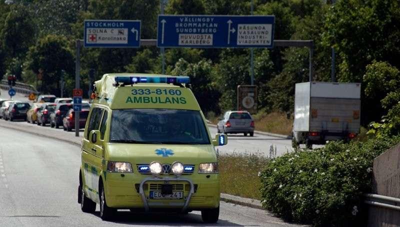 Швеция у полицейского участка прогремел мощный взрыв