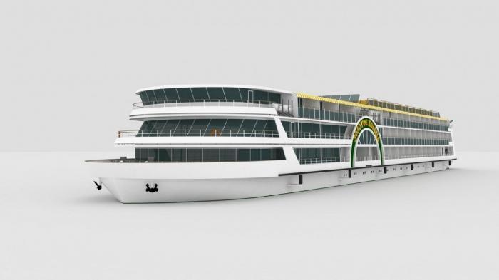 Насудостроительном заводе «Лотос» заложили первое круизное судно проекта ПКС 180