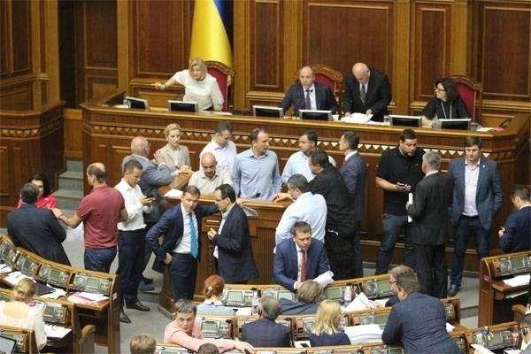 Украинской Раде не удалось принять поправку о разрыве дипотношений с Россией