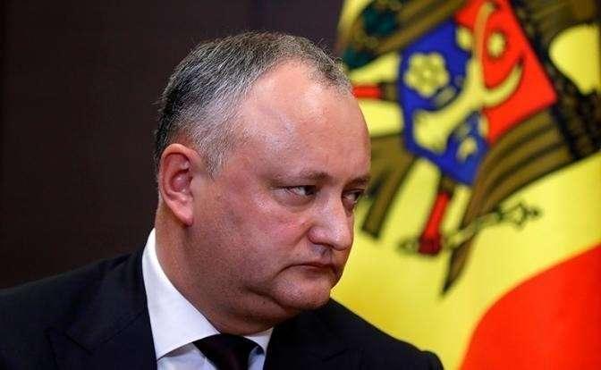 На фото: президент Молдавии Игорь Додон