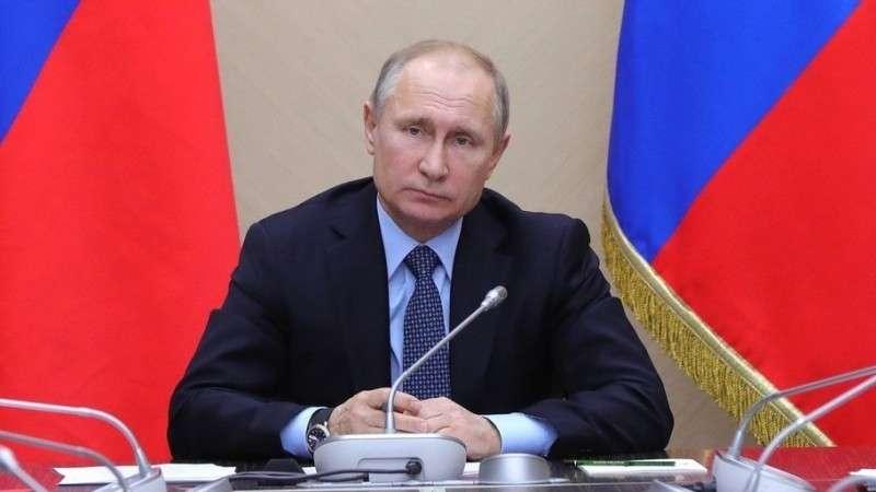 Обращение Владимира Путина кглавам государств– членов Евразийского экономического союза