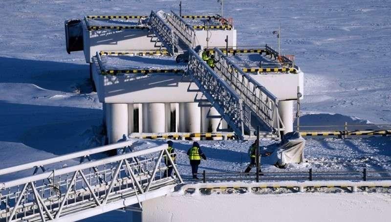 Танкер с российским СПГ для США развернулся посреди Атлантического океана