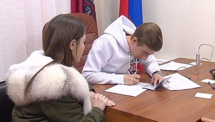 Избирательный штаб Владимира Путина собрал в пять раз больше подписей, чем нужно