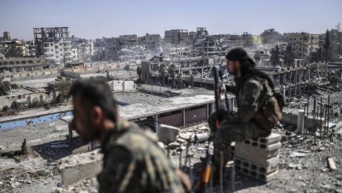 Сирия. Курдские воины убили четырех турецких солдат в погранзоне
