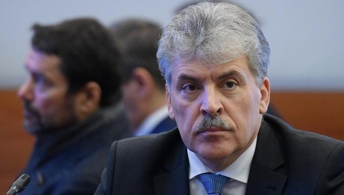 Новосибирский ЦИК обнаружил нарушения в бюллетенях Грудинина и запретил их распространять