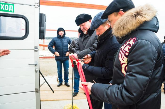 В селе Горелое Тамбовского района отрылась собственная осетровая ферма
