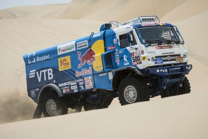 Российский экипаж «КамАЗ-мастер» стал победителем ралли-рейда «Дакар» в зачете грузовиков