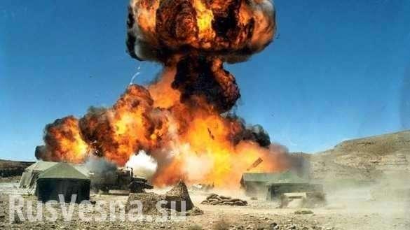 Донецк: артиллерия уничтожила штабы карателей ВСУ и Правого сектора | Русская весна
