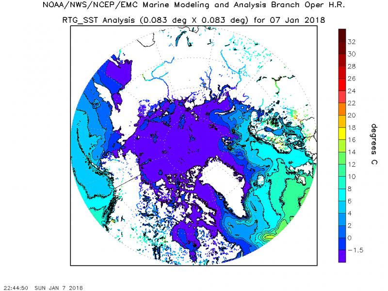 Остановка Гольфстрима – причина рекордных морозов в США?