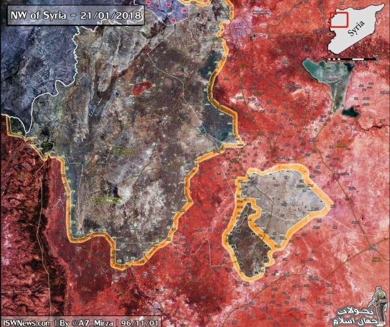 Сирия: подробности тяжелых боев правительственной армии в Идлибе и Хаме