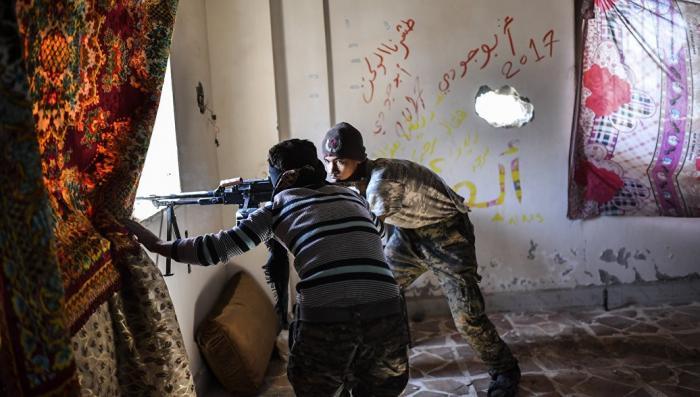 Сирия: Курды атаковали протурецкмх боевиков рядом с Африном