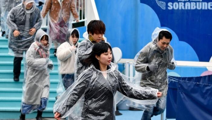 Япония готовятся к ядерному удару. Жители Токио впервые провели учебную эвакуацию