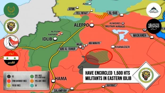 Сирия, Идлиб: 1500 наёмников США варят в идлибском котле