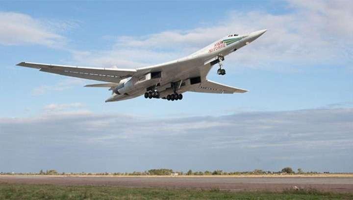 Новый стратегический ракетоносец Ту-160 поднялся в небо