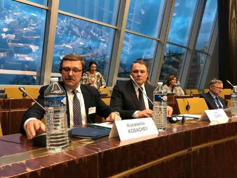 Охрана вышвырнула делегацию Украины с заседания ПАСЕ