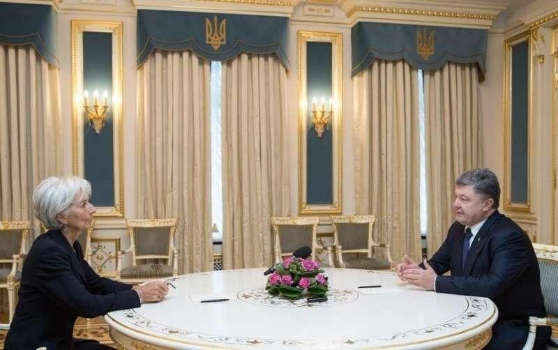 МВФ призывает Украину ускорить распад страны и разрушение экономики
