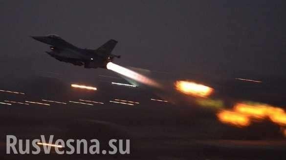 Турция бомбит курдский Манбидж, где размещён спецназ США | Русская весна