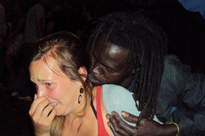 Немка выложила ролик о том, что их мужчины избиты, а они изнасилованы и попала в бан