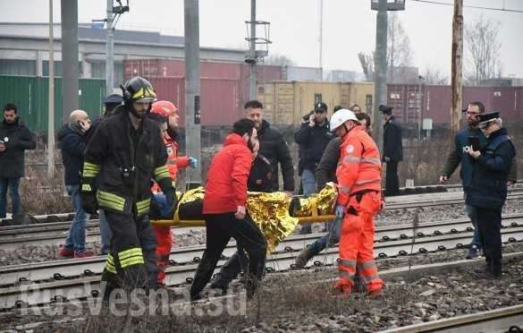 Крушение пассажирского поезда вИталии: сотни раненых, есть погибшие (ФОТО, ВИДЕО) | Русская весна