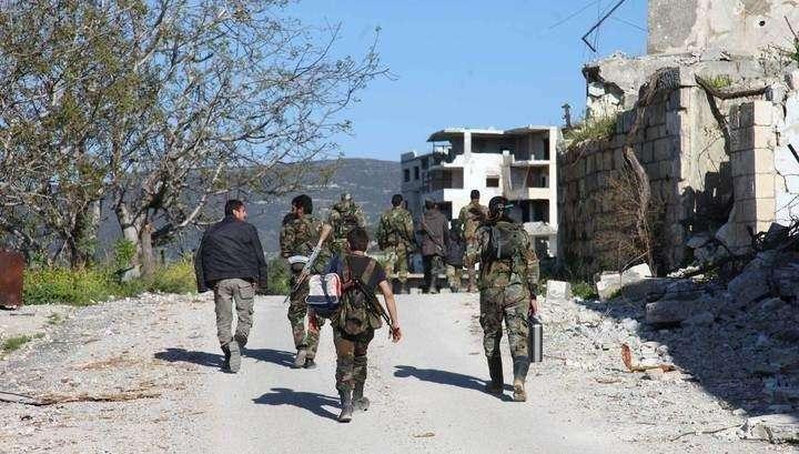 У сирийских террористов нашли современную европейскую аппаратуру РЭБ