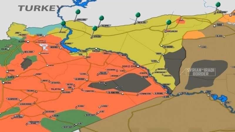 В Сирии протурецкие боевики готовы вцепится в армию США