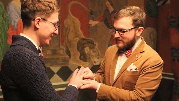 Гей-свадьба сильно не понравилась МВД и Госдуме