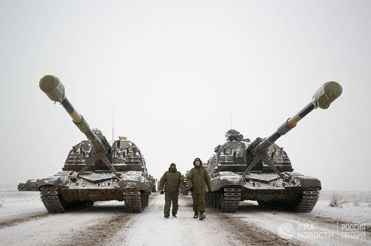 Более 20 самоходных гаубиц «Мста-С» пополнили парк боевых машин наСеверном Кавказе