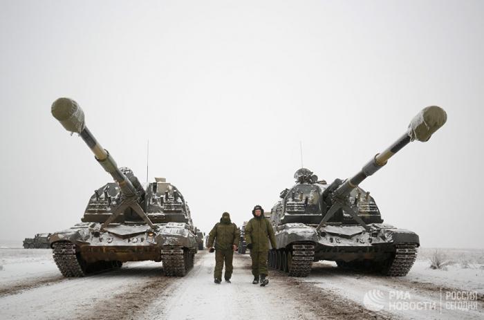 Воинские части на Северном Кавказе получили более 20 новейших САУ «Мста-С»
