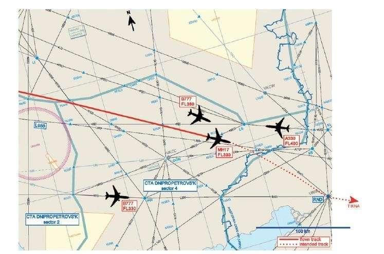 Предварительный доклад о крушении Boeing 777 на Украине