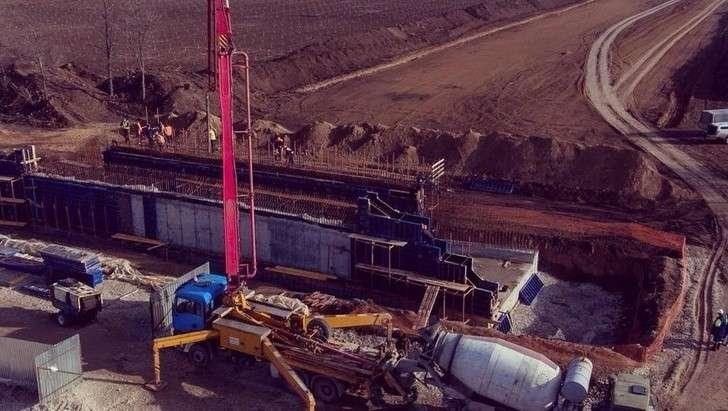 Трасса «Таврида» вКрыму уже начетверть построена