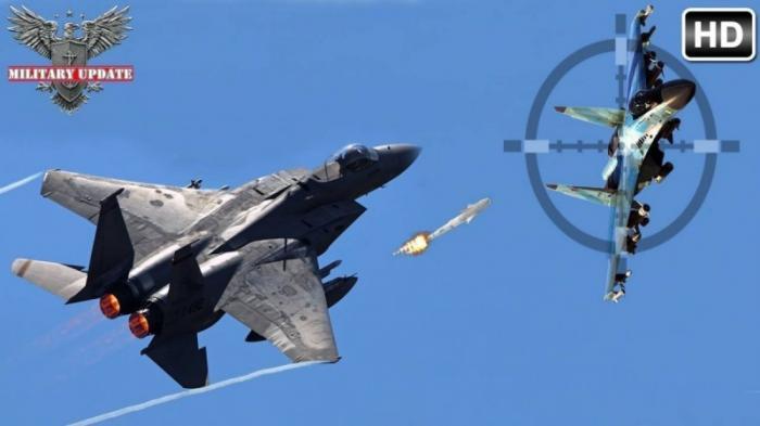 Иностранцы: «F15 – звери, но если СУ35 приблизится к ним, то им будет край»