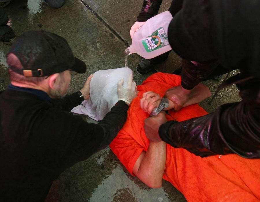 Спецслужбы США применяют самые изощрённые и жестокие пытки